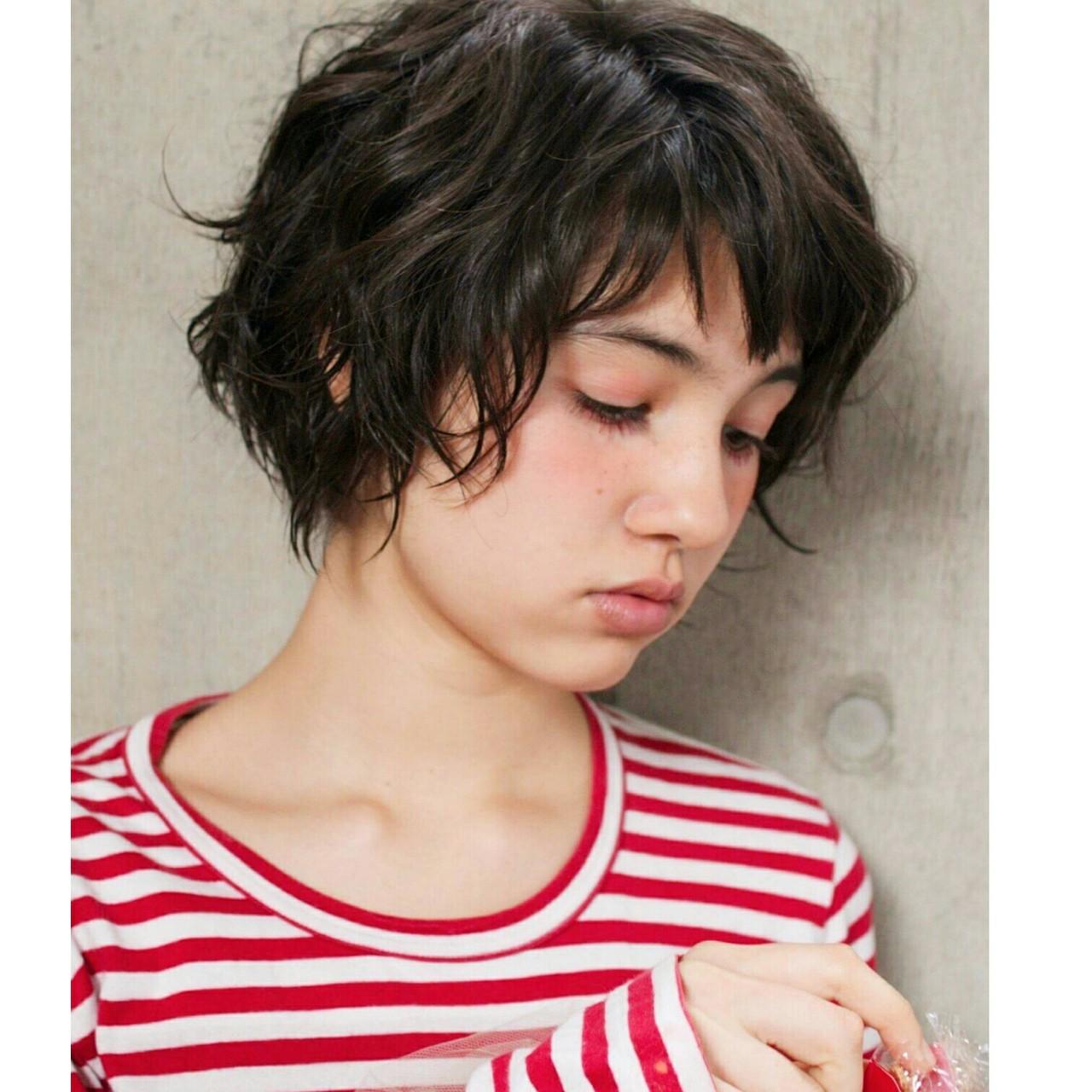 知らなかった?実はオンナ度が高い、魅惑の黒髪ベリーショート♡ 安田 幸恵