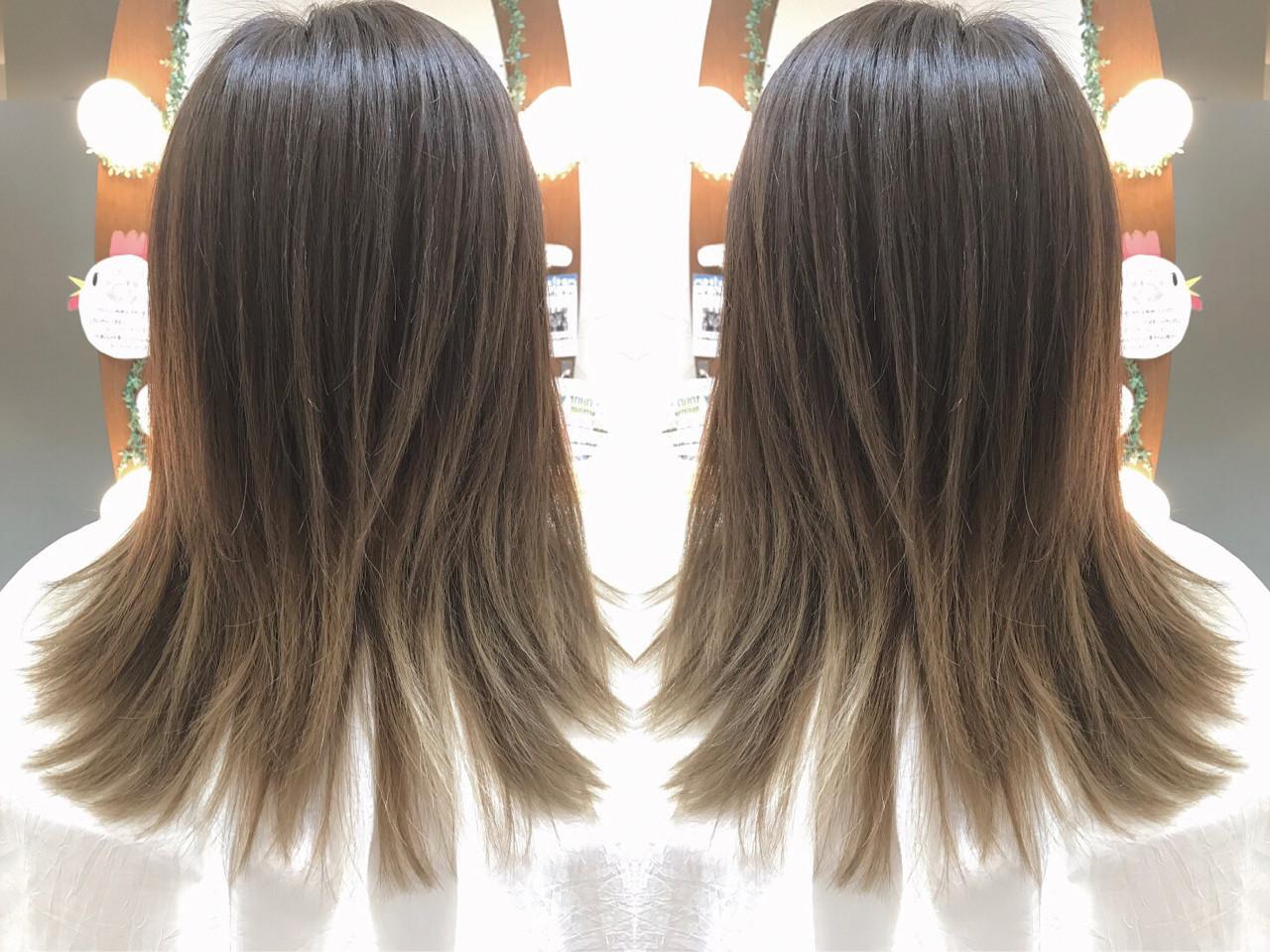 大人かわいい アッシュ ナチュラル 外国人風カラー ヘアスタイルや髪型の写真・画像 | Sano Kazunao / VISAGE klar