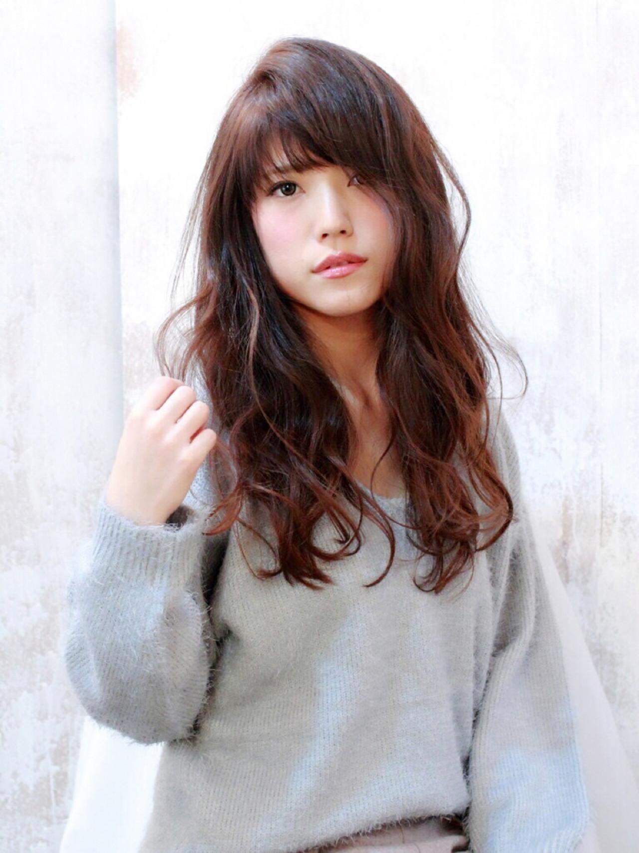 ナチュラル おフェロ ゆるふわ グラデーションカラー ヘアスタイルや髪型の写真・画像 | Marika Yoshioka /