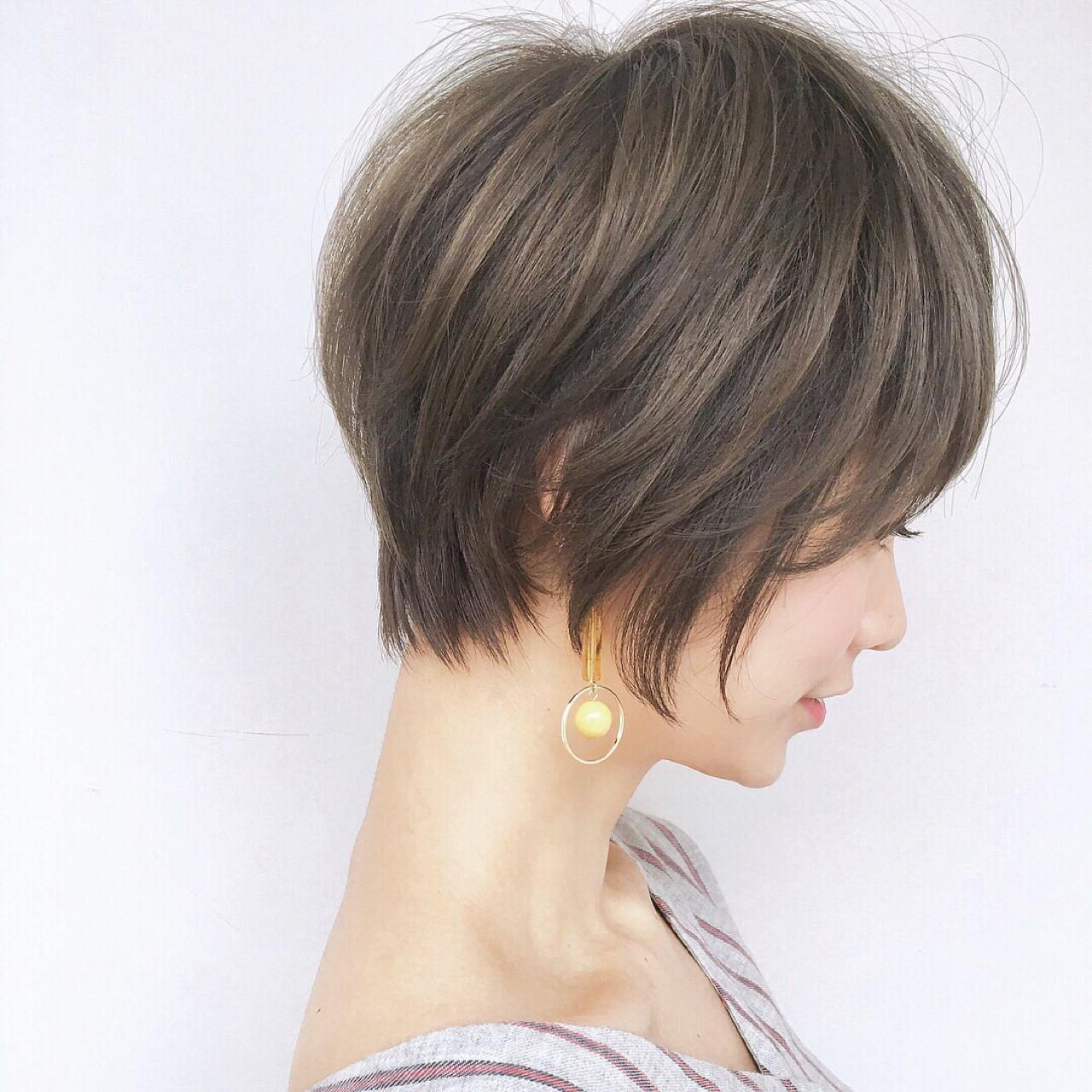 抜け感 ゆるふわ 色気 ナチュラル ヘアスタイルや髪型の写真・画像 | ショートボブの匠【 山内大成 】『i.hair』 / 『 i. 』 omotesando
