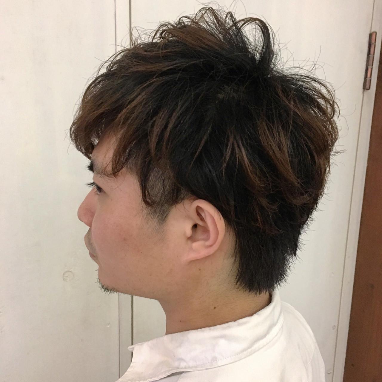 モテ髪 ナチュラル メンズ ボーイッシュ ヘアスタイルや髪型の写真・画像 | 杉本あさか asa / buzz北堀江
