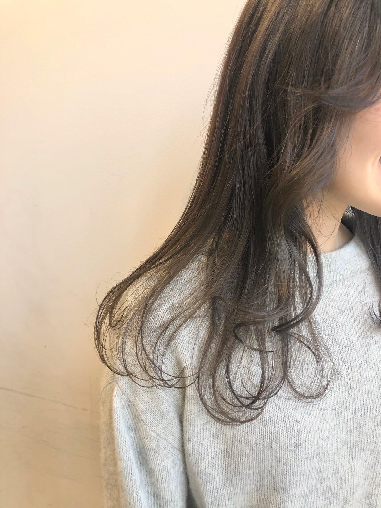 透明感 ナチュラル ハイトーン 透明感カラー ヘアスタイルや髪型の写真・画像