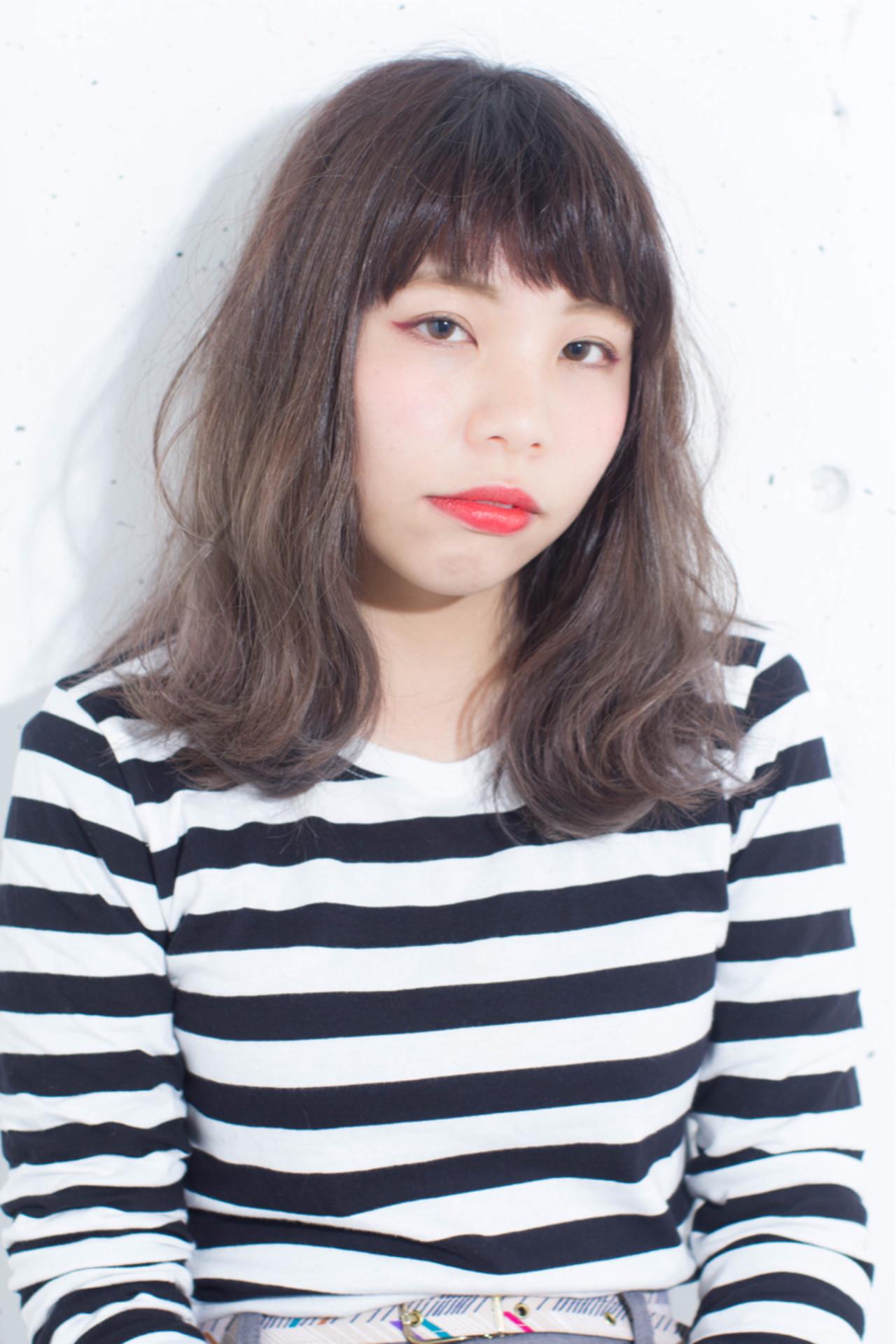 黒髪 ハイライト アッシュ グラデーションカラー ヘアスタイルや髪型の写真・画像 | 長谷川 聖太 / sowi hair design  (ソーイ)