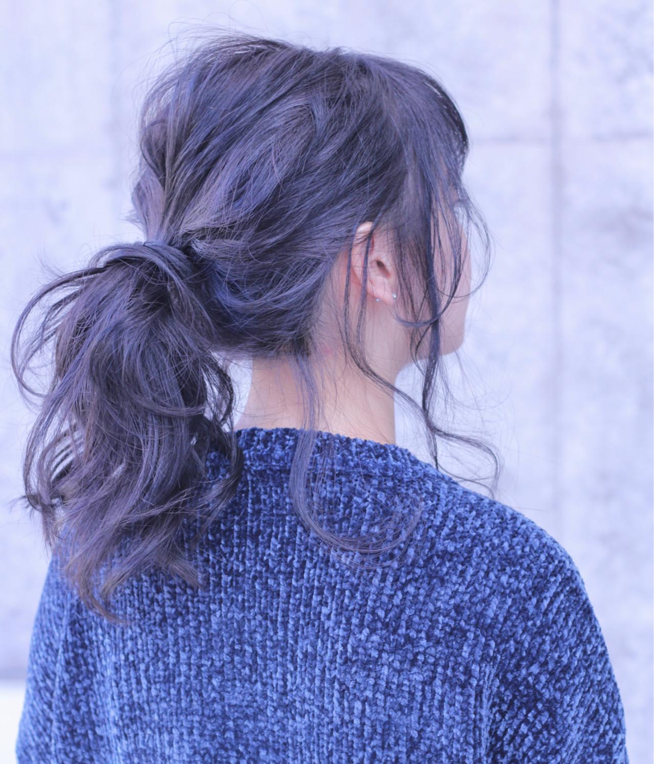 ヘアアレンジ 簡単ヘアアレンジ 大人女子 ロング ヘアスタイルや髪型の写真・画像 | Wataru Maeda / cache cache