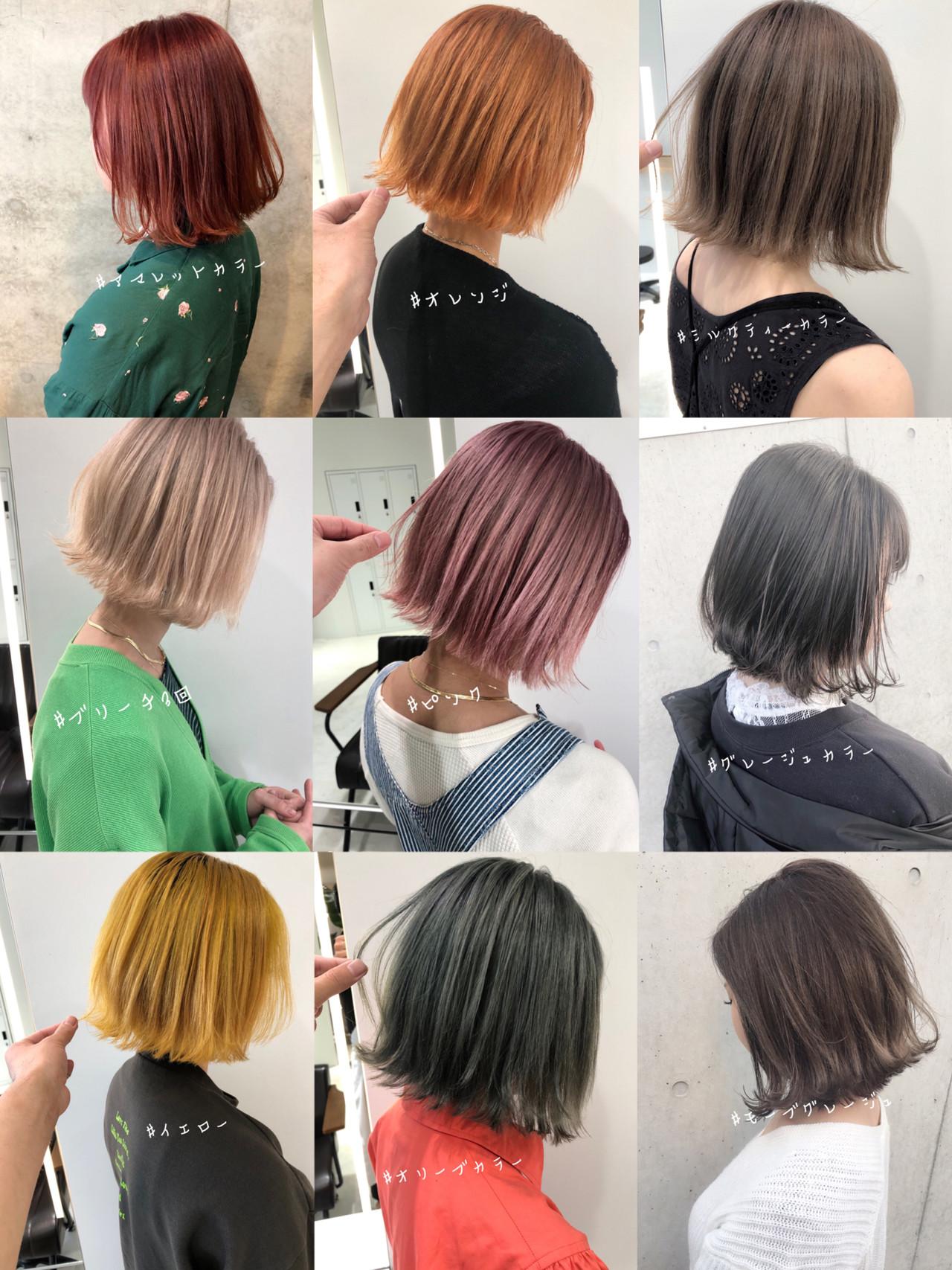 切りっぱなしボブ ボブ ショートボブ ショートヘア ヘアスタイルや髪型の写真・画像 | 北村 亮 / Lano by HAIR