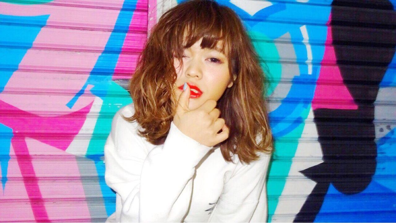 パンク ウェットヘア ストレート ストリート ヘアスタイルや髪型の写真・画像   Ryusei Maeda / free