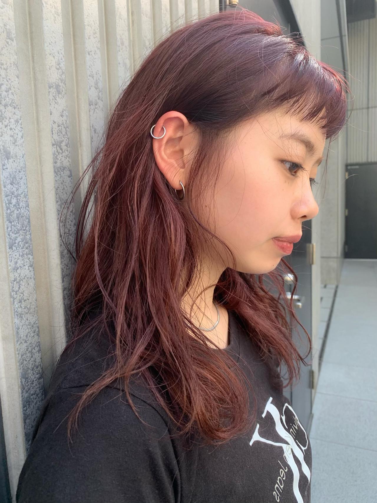 前髪パッツン 阿藤俊也 セミロング 似合わせカット ヘアスタイルや髪型の写真・画像