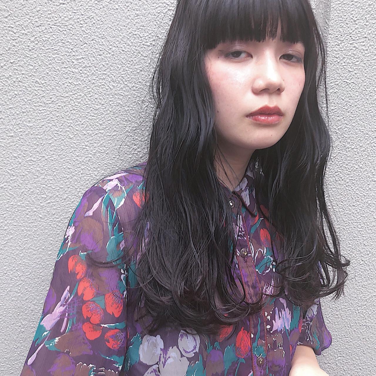 ガーリー セミロング ヘアスタイルや髪型の写真・画像   eri / kikkake@depth