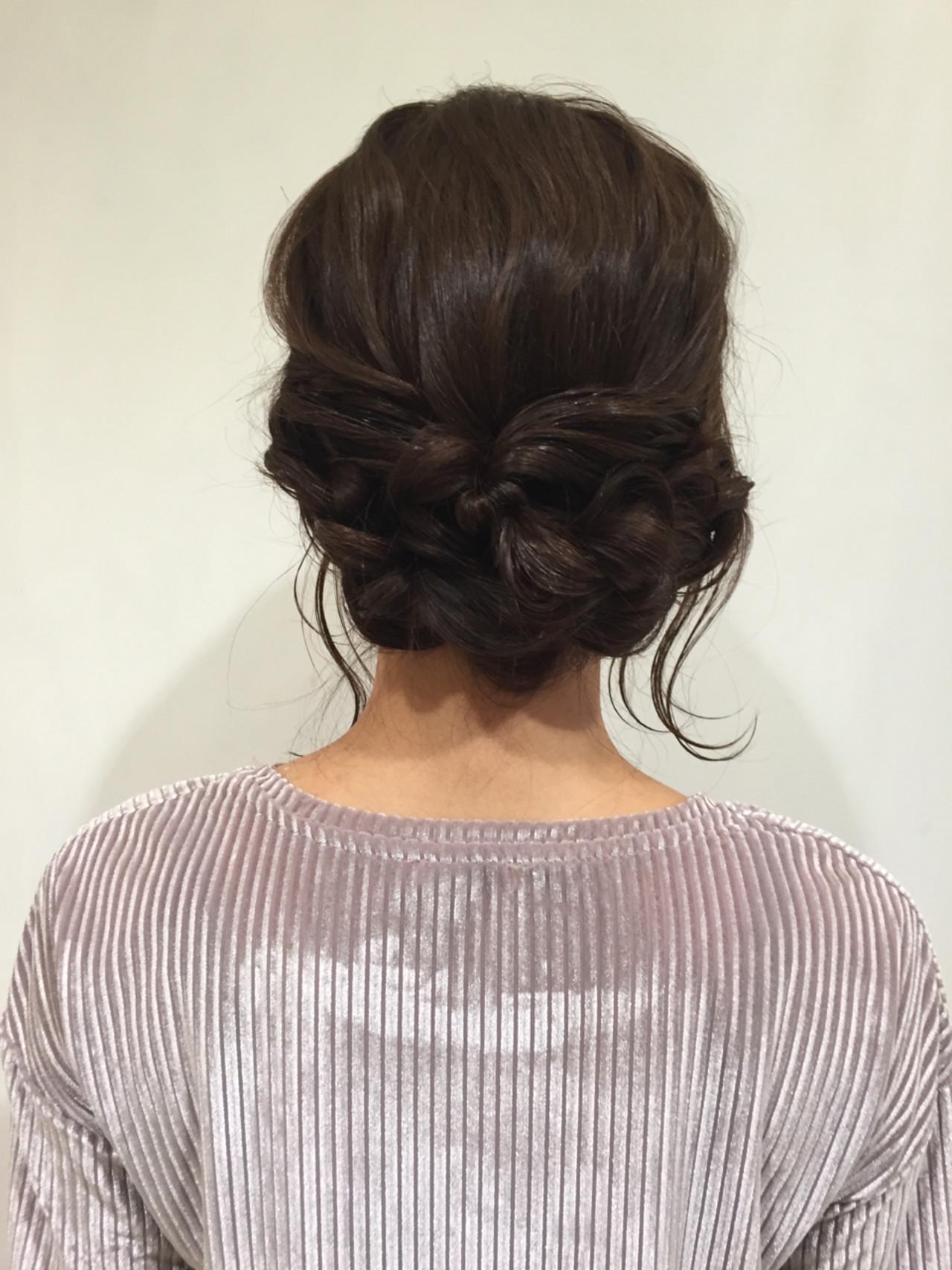アッシュ ロング ショート 簡単ヘアアレンジヘアスタイルや髪型の写真・画像