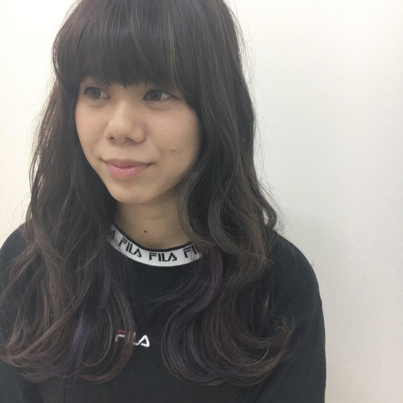 ナチュラル ウェーブ 大人かわいい アンニュイ ヘアスタイルや髪型の写真・画像 | Yuuta Asato / Moana by HEADLIGHT 沖縄東崎店