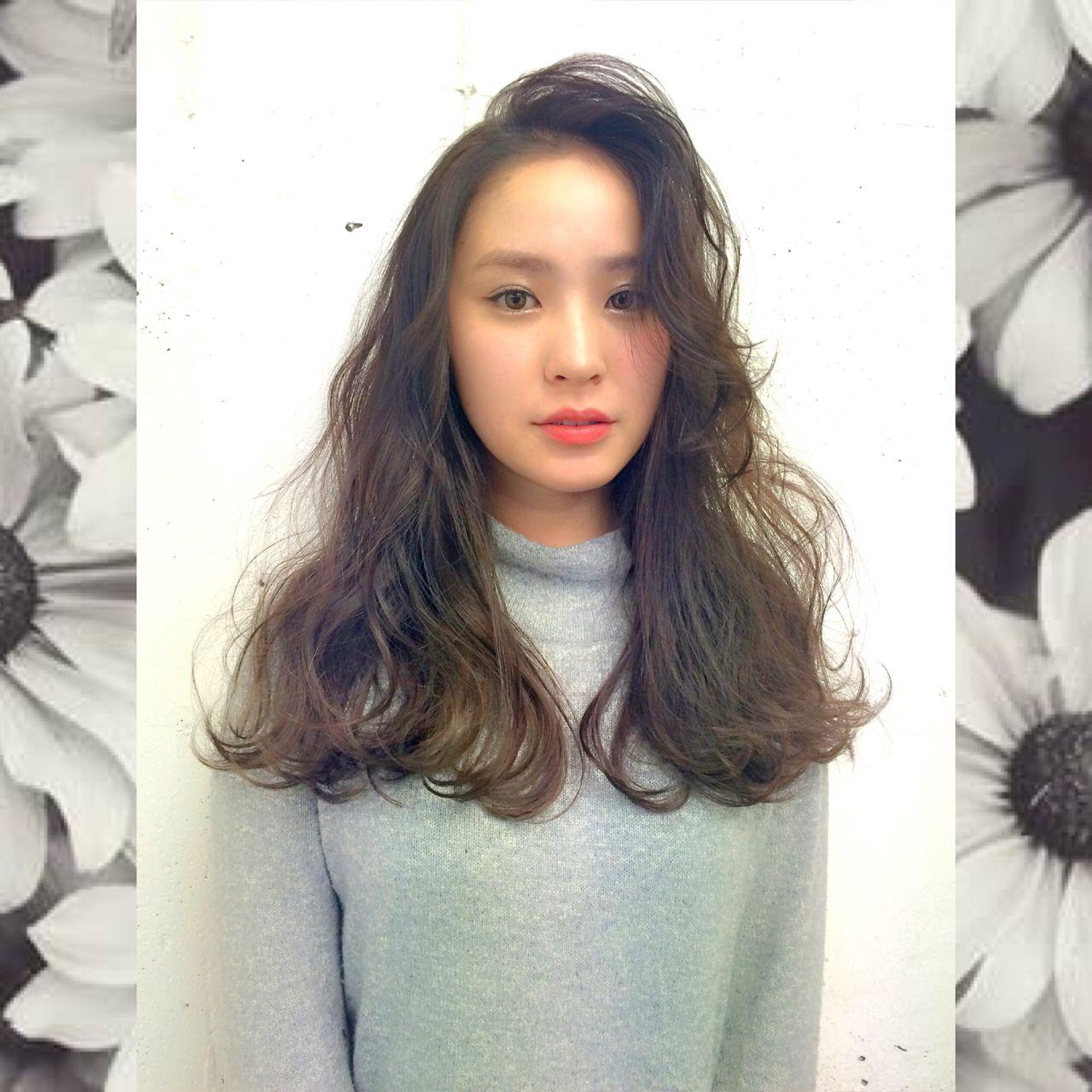モテ髪 ナチュラル ゆるふわ ロング ヘアスタイルや髪型の写真・画像 | 野中 まりえ / SHIMA aoyama