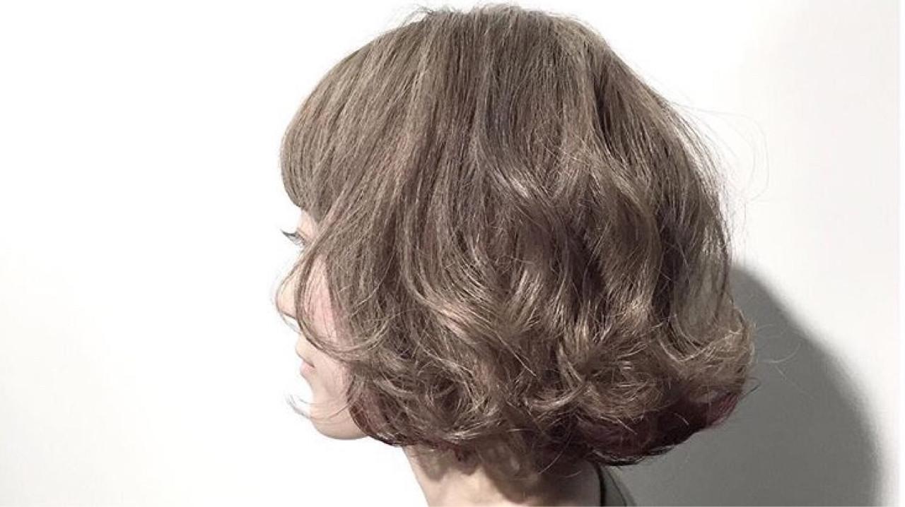 ゆるふわ パーマ モテ髪 フェミニン ヘアスタイルや髪型の写真・画像   chiaki / magnet hair