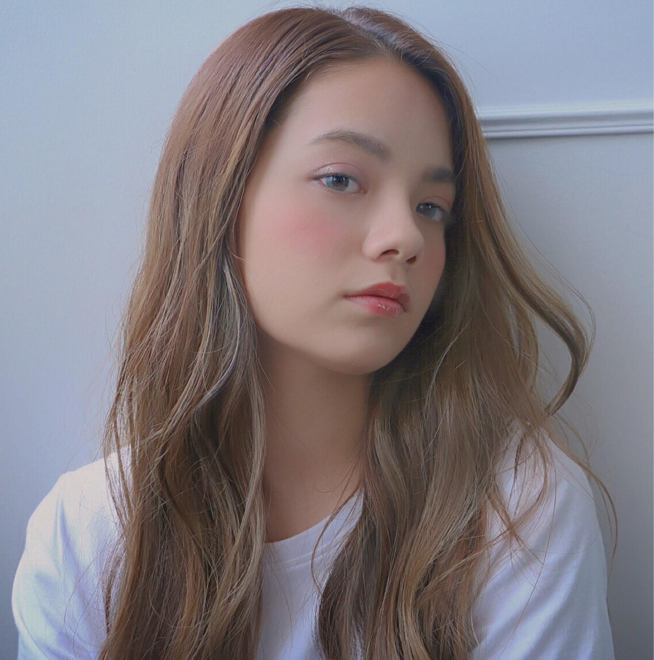 オフィス こなれ感 ロング ヘアアレンジ ヘアスタイルや髪型の写真・画像 | 犬島麻姫子 / オルチャンヘアスタイルおまかせください
