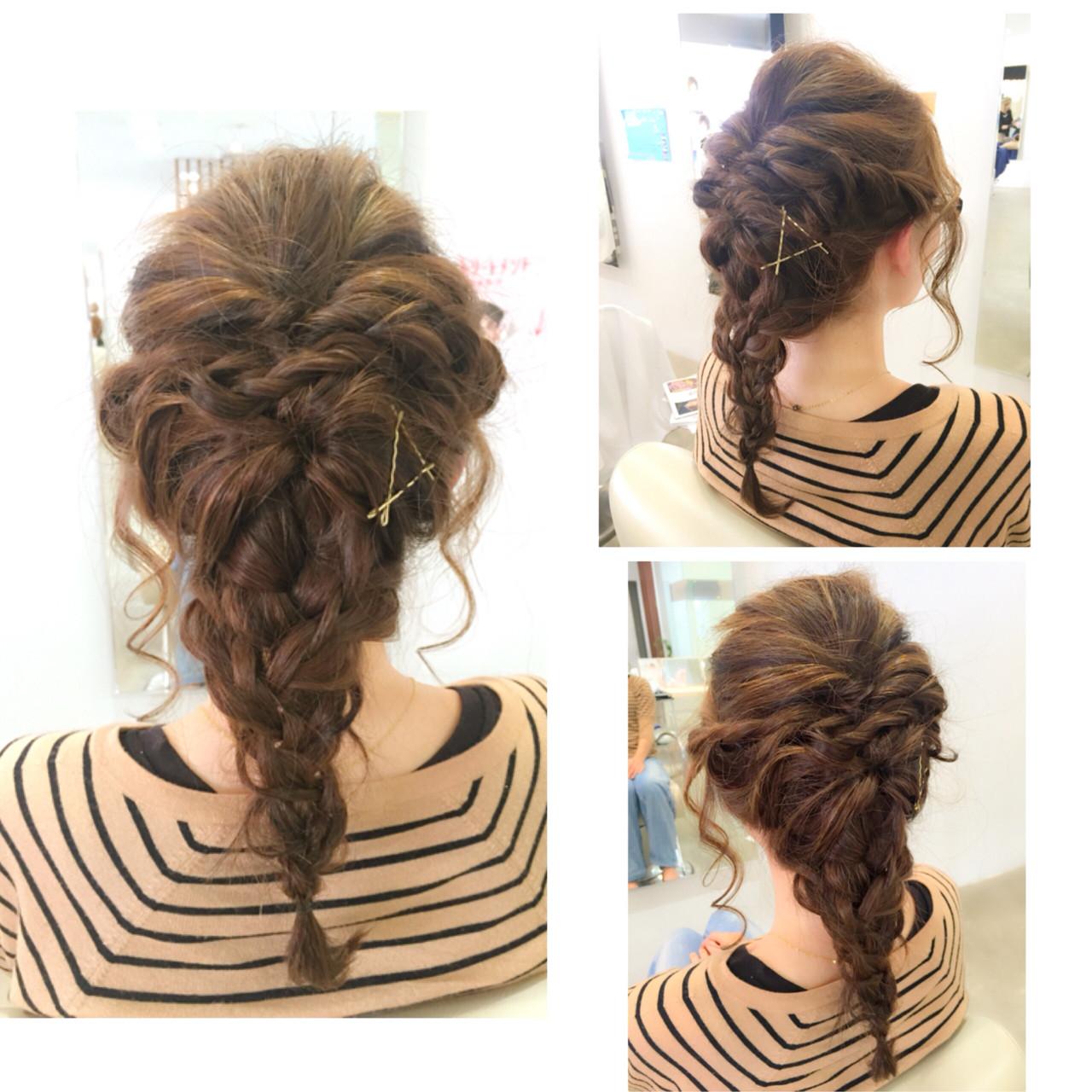 ヘアアレンジ ショート ロング ハーフアップ ヘアスタイルや髪型の写真・画像 | 牧 美幸 / Julia by BEAUTY STREAM