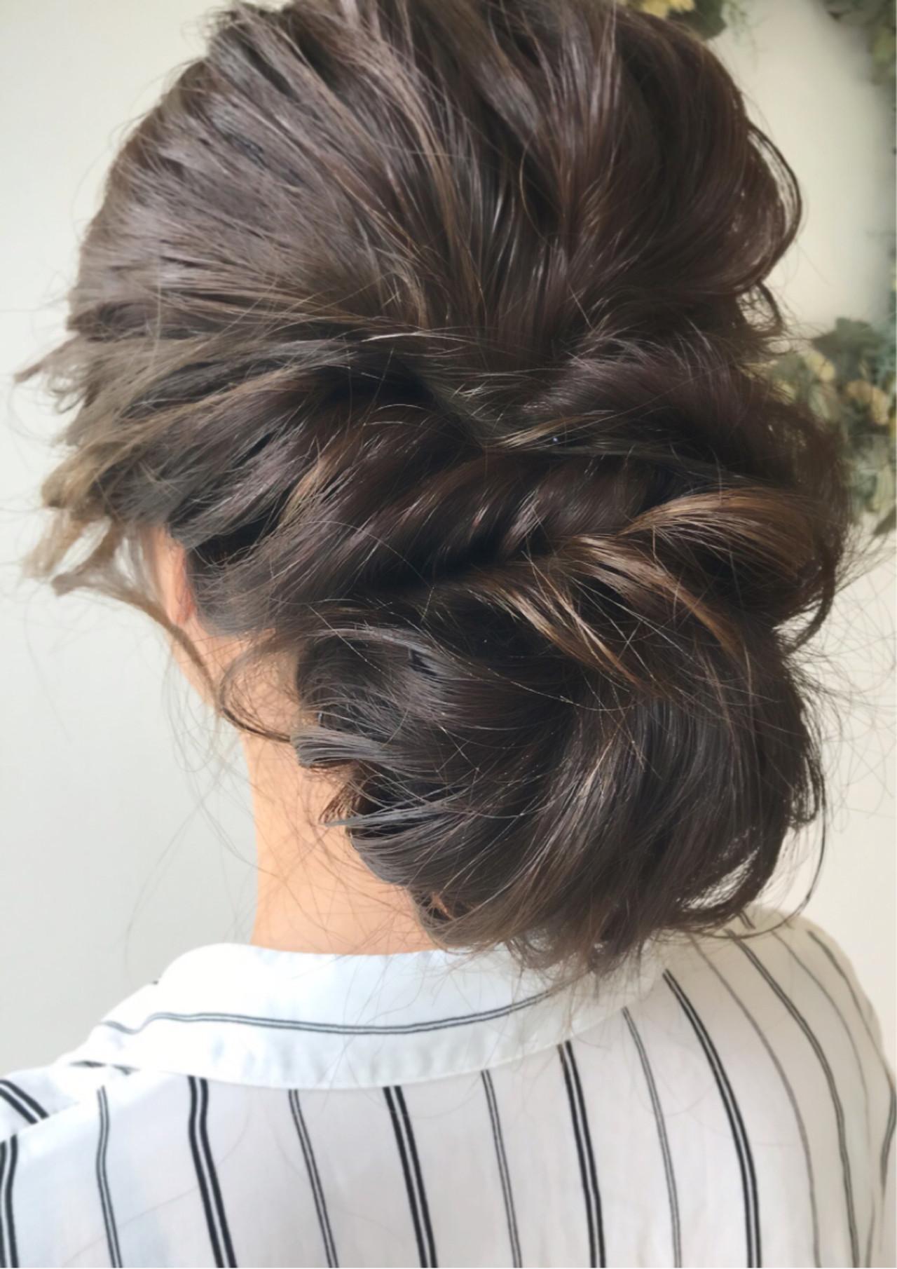 エレガント 女子力 セミロング 成人式ヘアスタイルや髪型の写真・画像