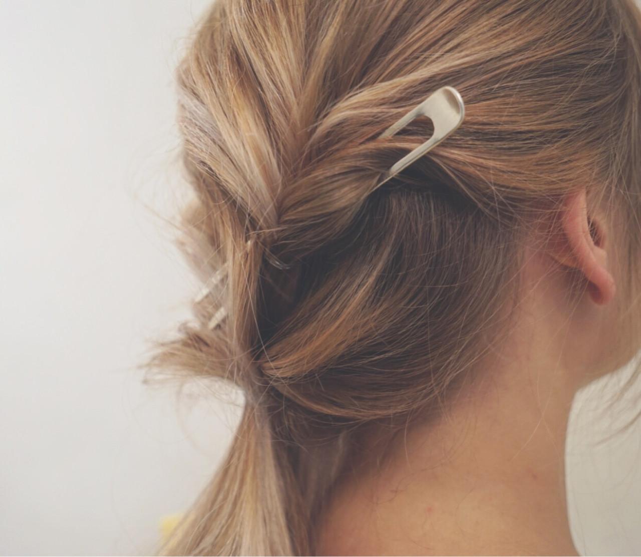 ヘアアレンジ 涼しげ 色気 フェミニン ヘアスタイルや髪型の写真・画像 | ケンタロー / Nicole.