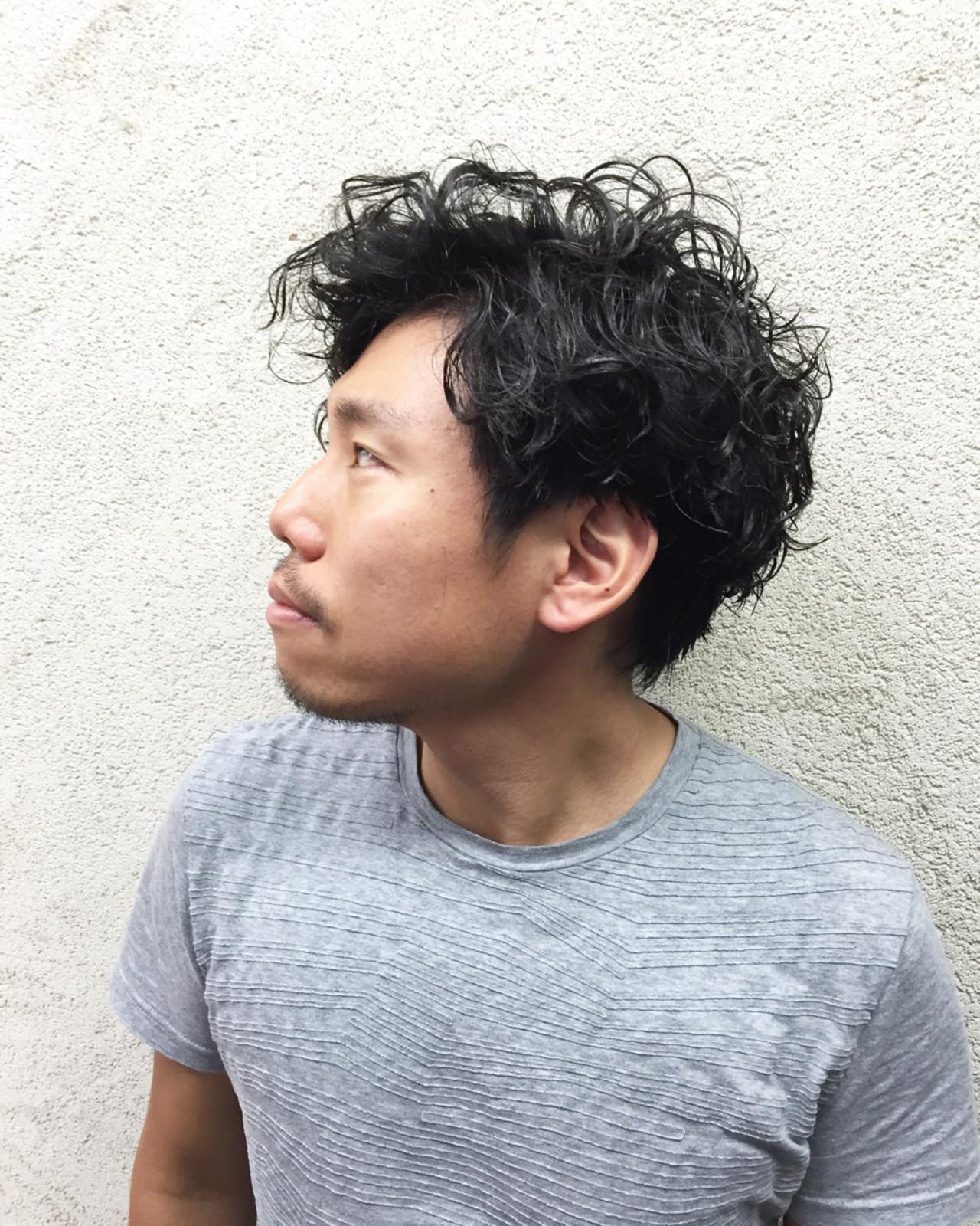 パーマ こなれ感 ナチュラル ショート ヘアスタイルや髪型の写真・画像 | 今永 律子 / adams bella