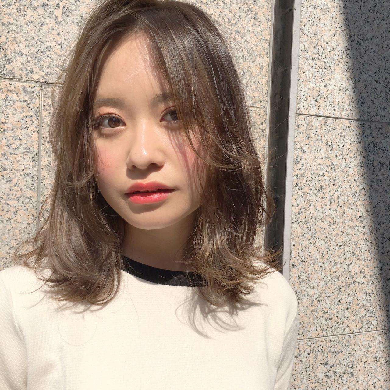 こなれ感 ミディアム ヘアアレンジ デート ヘアスタイルや髪型の写真・画像 | ナガヤ アキラ joemi 新宿 / joemi by Un ami