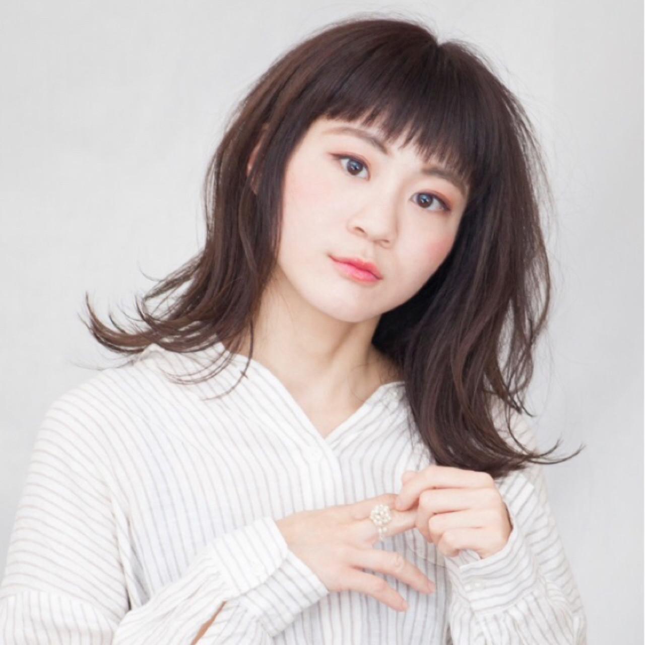 ストリート ヘアアレンジ デート ミディアム ヘアスタイルや髪型の写真・画像 | Ichiro yamada / kurtis HAIR SALON