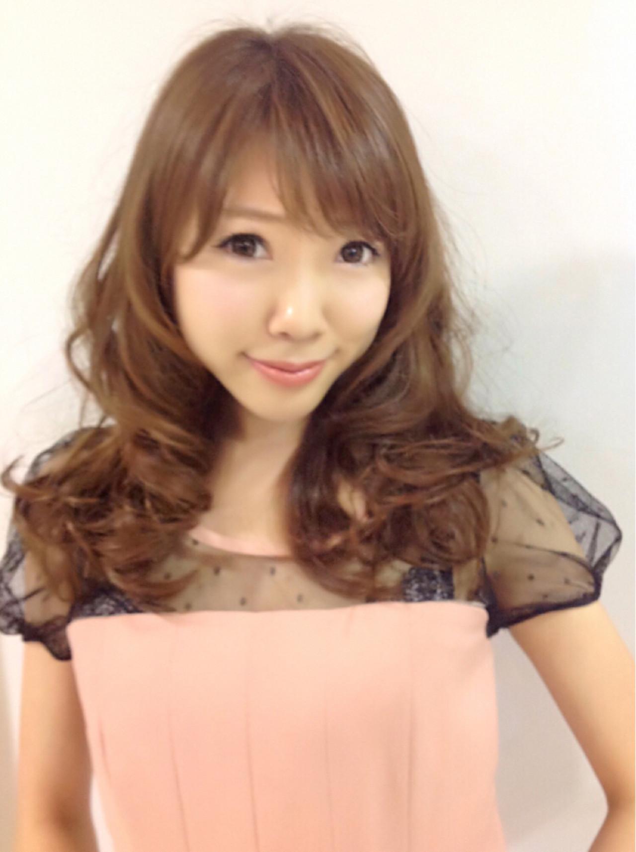 ゆるふわ 色気 ナチュラル セミロング ヘアスタイルや髪型の写真・画像 | カラーリスト・YuuKi Sekimoto / wherever