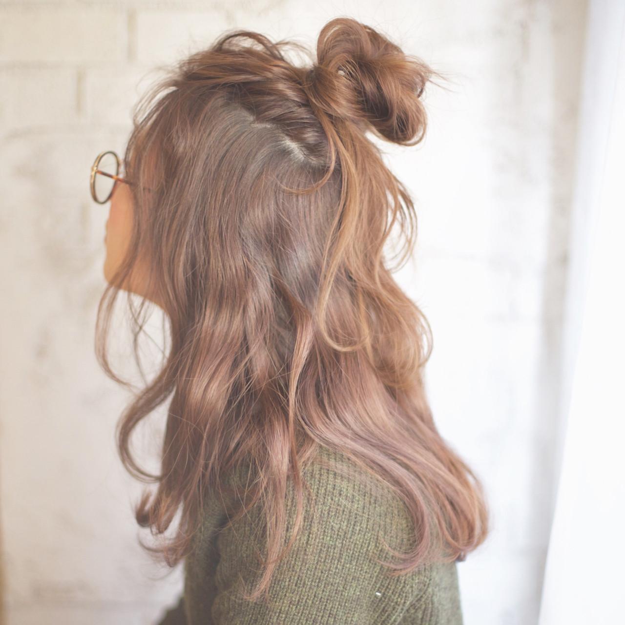 簡単 簡単ヘアアレンジ セミロング ショート ヘアスタイルや髪型の写真・画像 | 谷本将太 nalu hair / nalu hair  (ナルーヘアー)