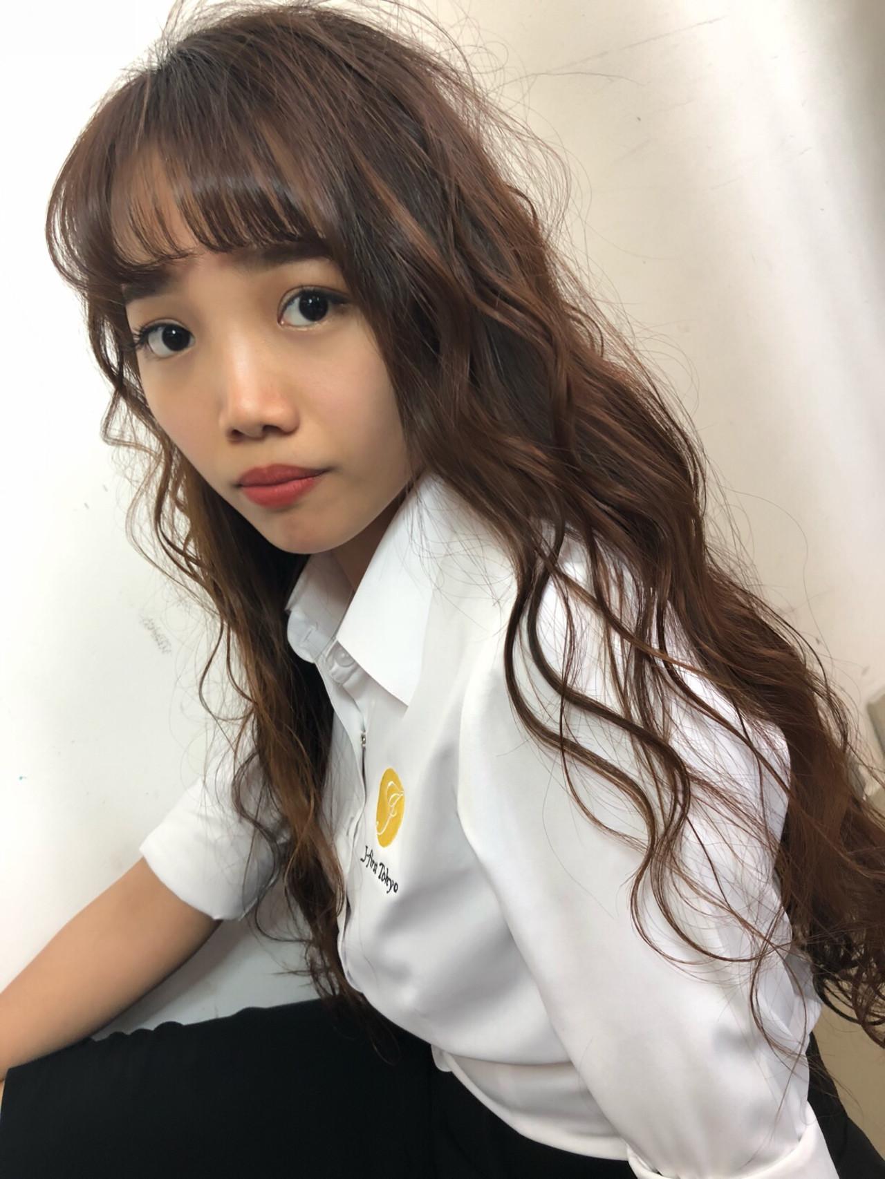 デート オフィス ヘアアレンジ ナチュラル ヘアスタイルや髪型の写真・画像 | 筒井 隆由 / Hair salon mode