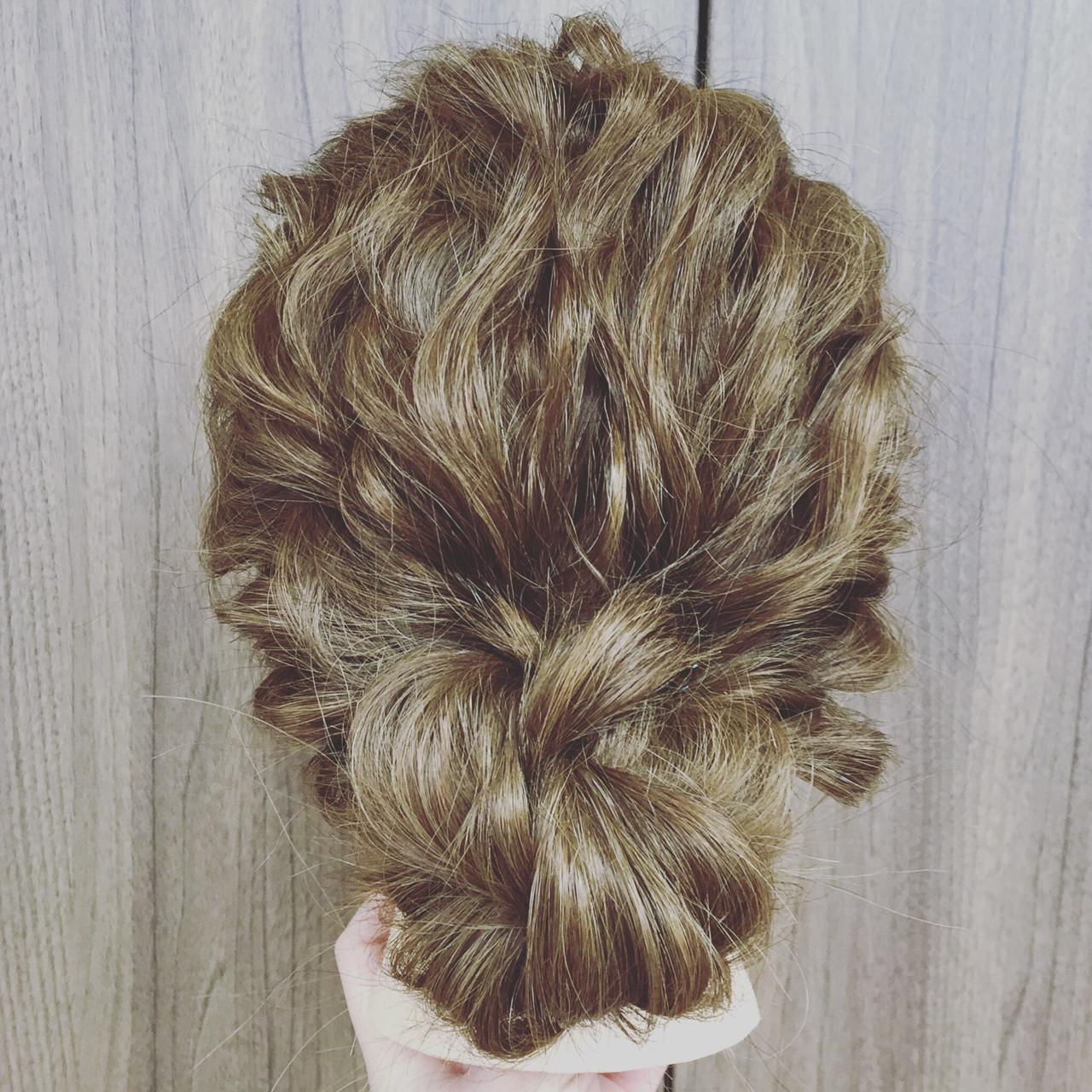 大人かわいい セミロング 簡単ヘアアレンジ ヘアアレンジ ヘアスタイルや髪型の写真・画像   倉田 寛昭 / hair resort Lien