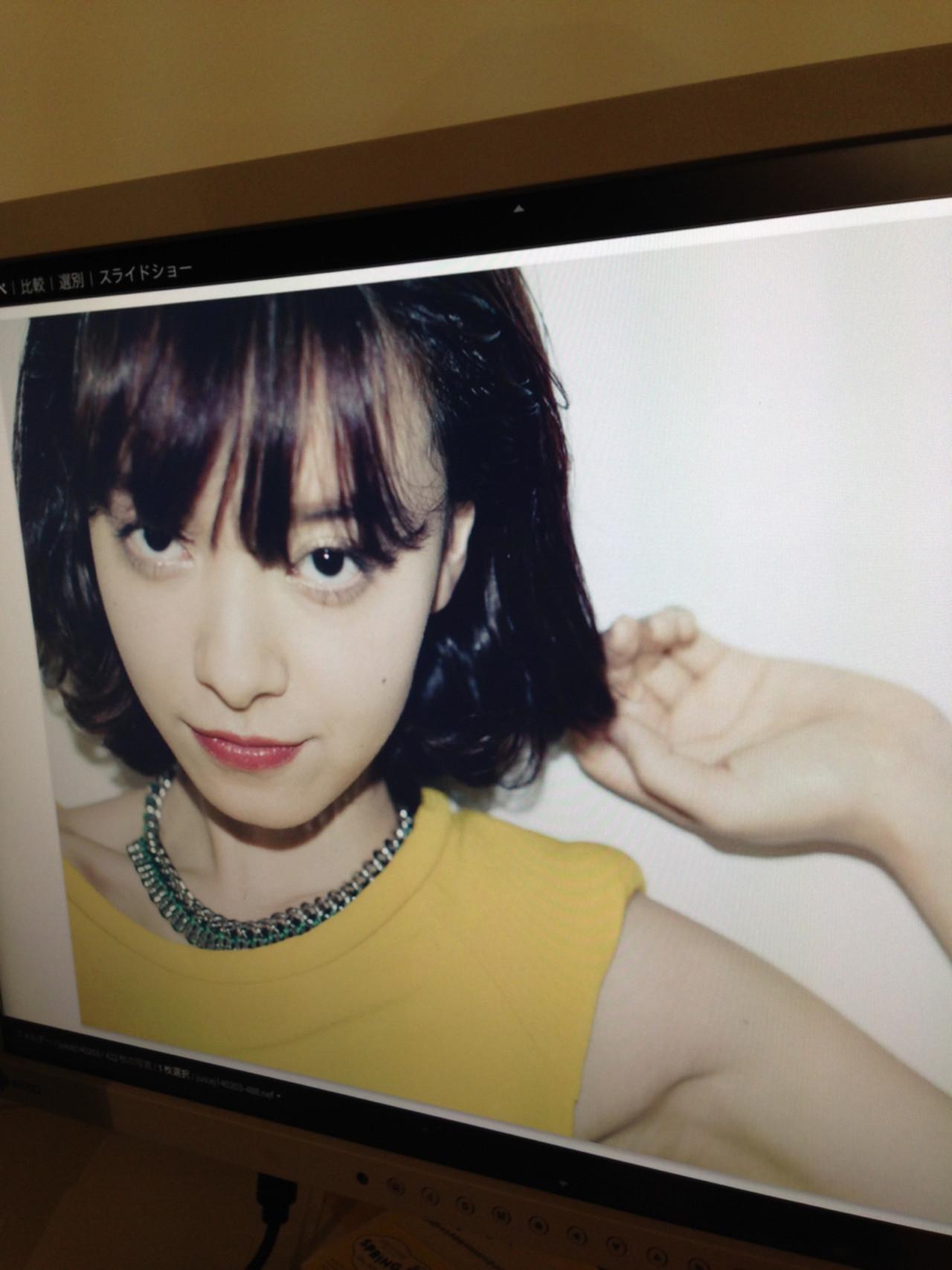 大人女子 ボブ ヘアアレンジ 色気 ヘアスタイルや髪型の写真・画像 | yukari /