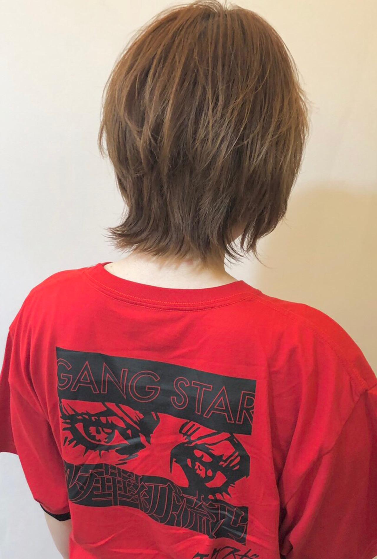 外国人風 ウルフカット ショート ストリート ヘアスタイルや髪型の写真・画像 | 高橋隆一/Ryuスタイル / hair&make  bis       group by ZEST