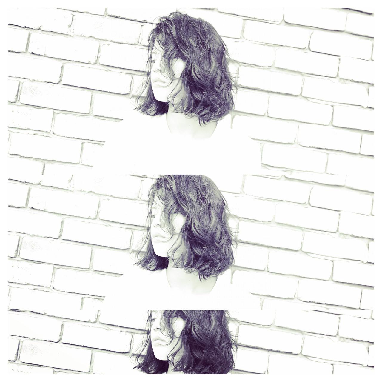 ナチュラル ミディアム ヘアスタイルや髪型の写真・画像   林 建次 / hair make Abeille