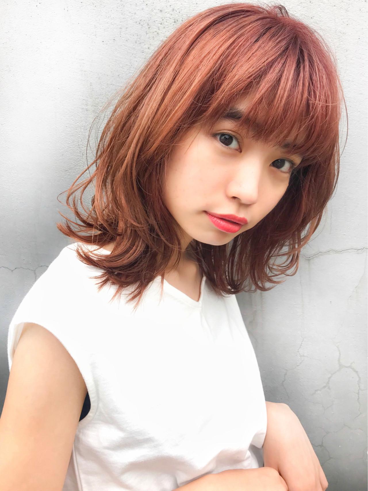 前髪あり ヘアアレンジ デート フェミニン ヘアスタイルや髪型の写真・画像 | 【星野 達】 Joule South / Joule South