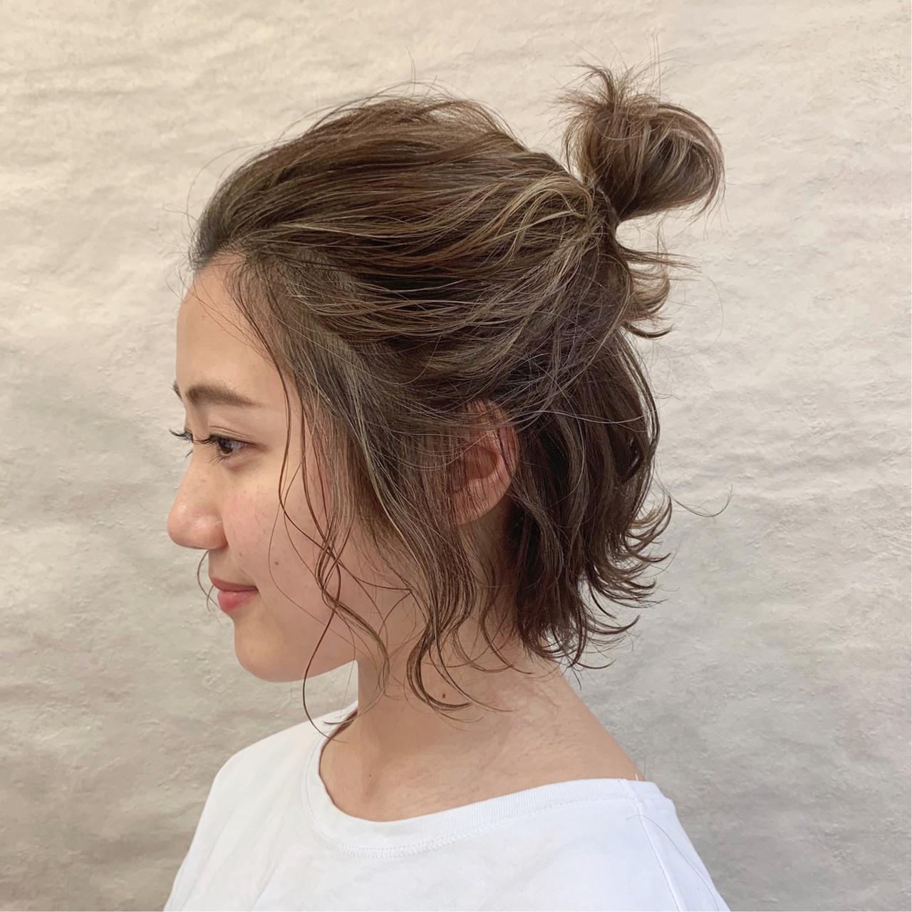 アウトドア デート オフィス ナチュラル ヘアスタイルや髪型の写真・画像 | 安永怜 / kakimotoarms田園調布