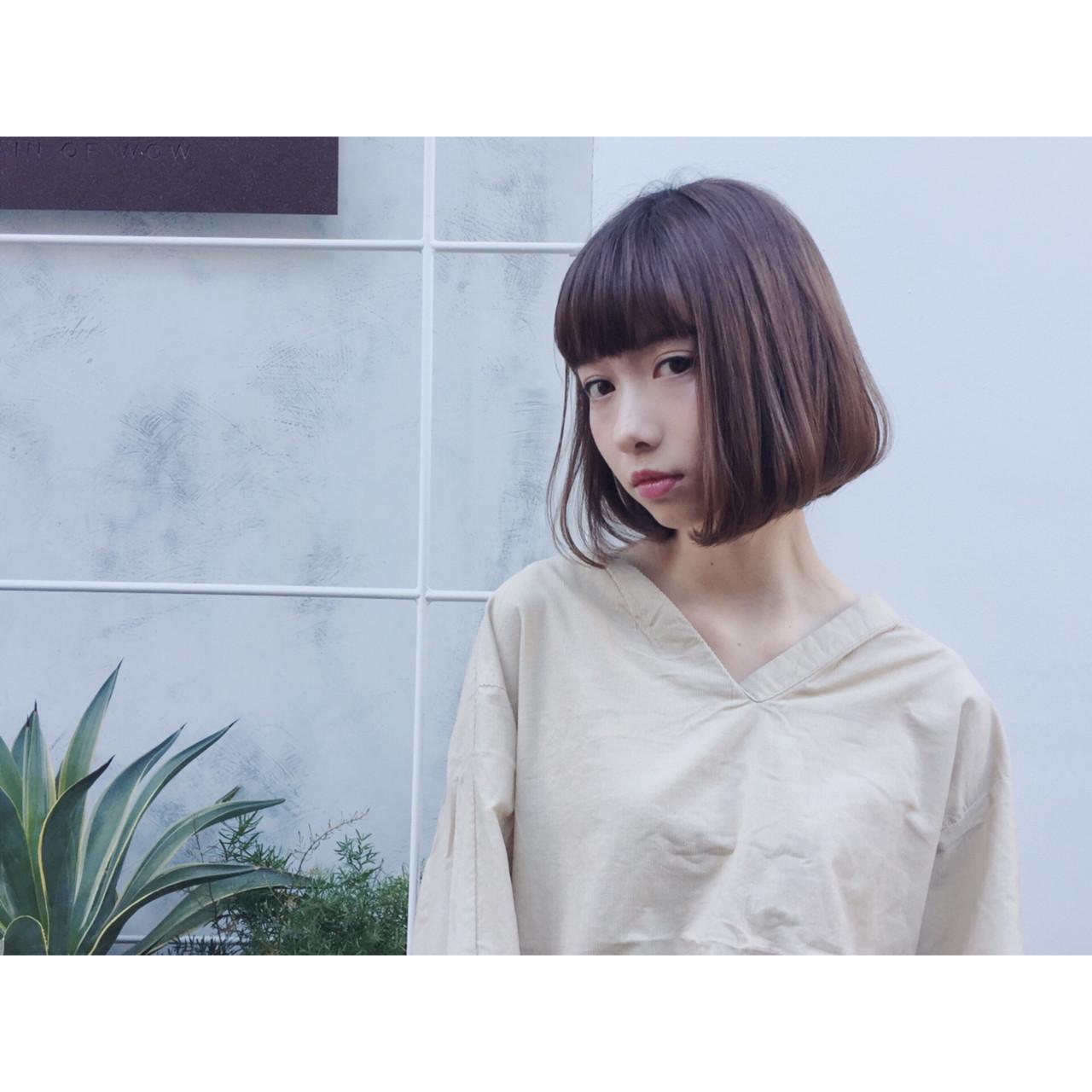 ナチュラル ピュア 大人かわいい ニュアンス ヘアスタイルや髪型の写真・画像 | 大西 絢子/HOULe / HOULe