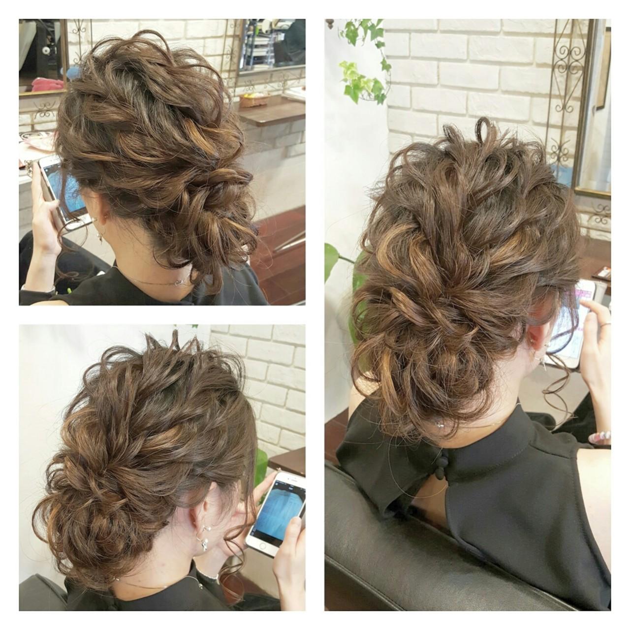 ハーフアップ 外国人風 大人かわいい ヘアアレンジ ヘアスタイルや髪型の写真・画像 | 岡本 幸治 / hair salon chelsea