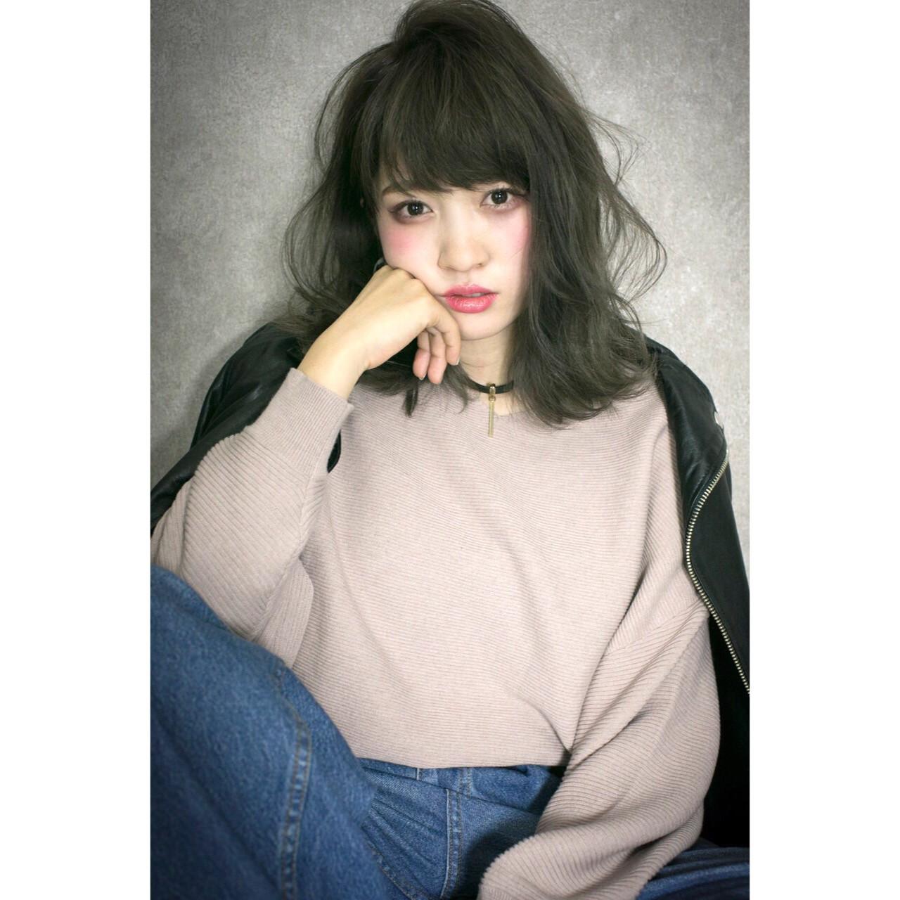 フェミニン ゆるふわ ハイライト 大人かわいい ヘアスタイルや髪型の写真・画像 | 廣長 毅 / Lull/ vampdiva