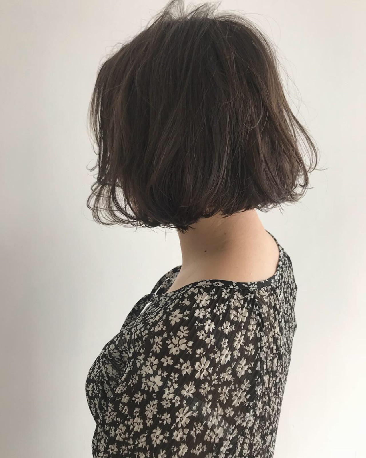 ゆるふわ スポーツ ボブ オフィス ヘアスタイルや髪型の写真・画像   YUJI / LIICHI / LIICHI (リイチ)