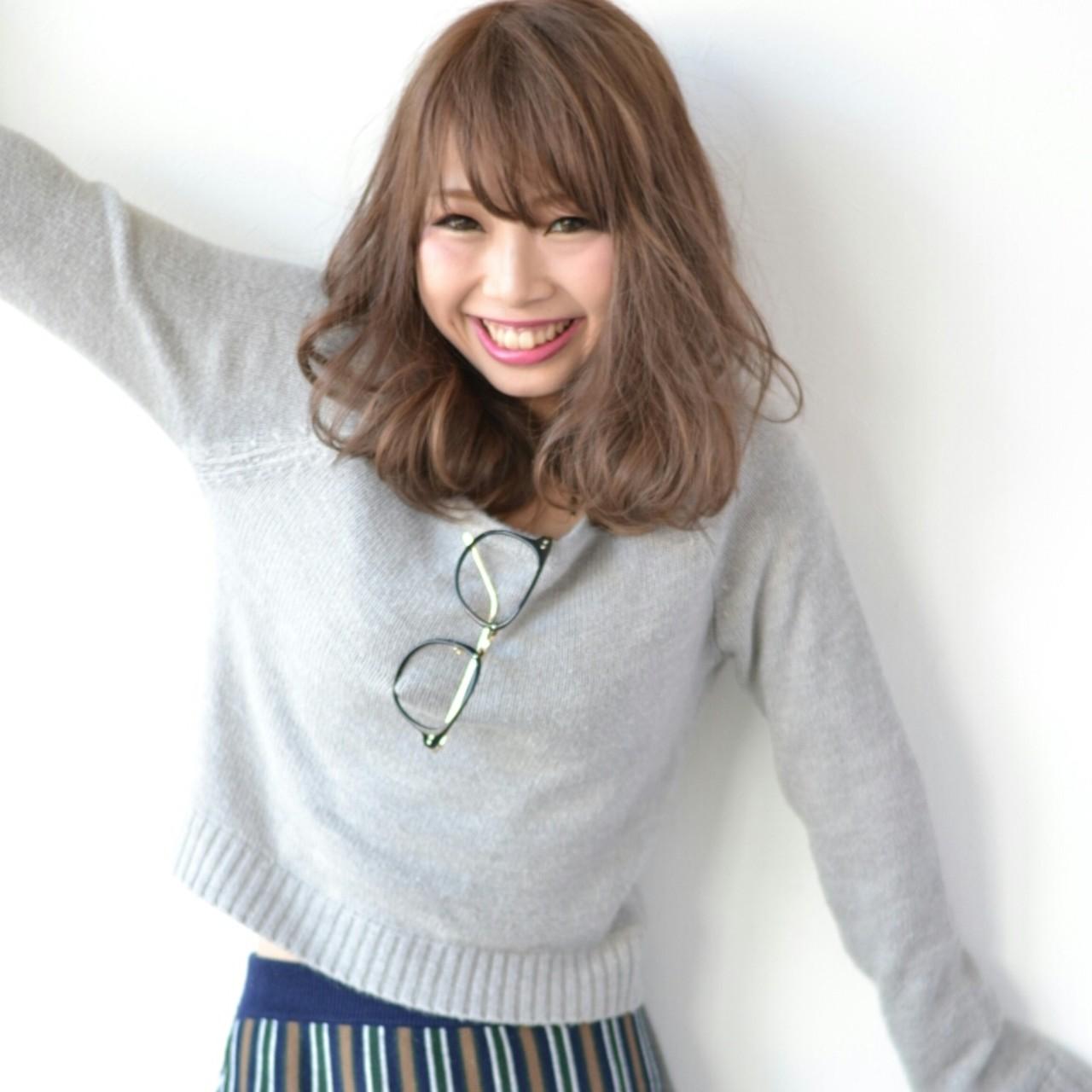 大人かわいい ガーリー デジタルパーマ 外国人風 ヘアスタイルや髪型の写真・画像 | Tsuru Shohei / ASIA(アジア)