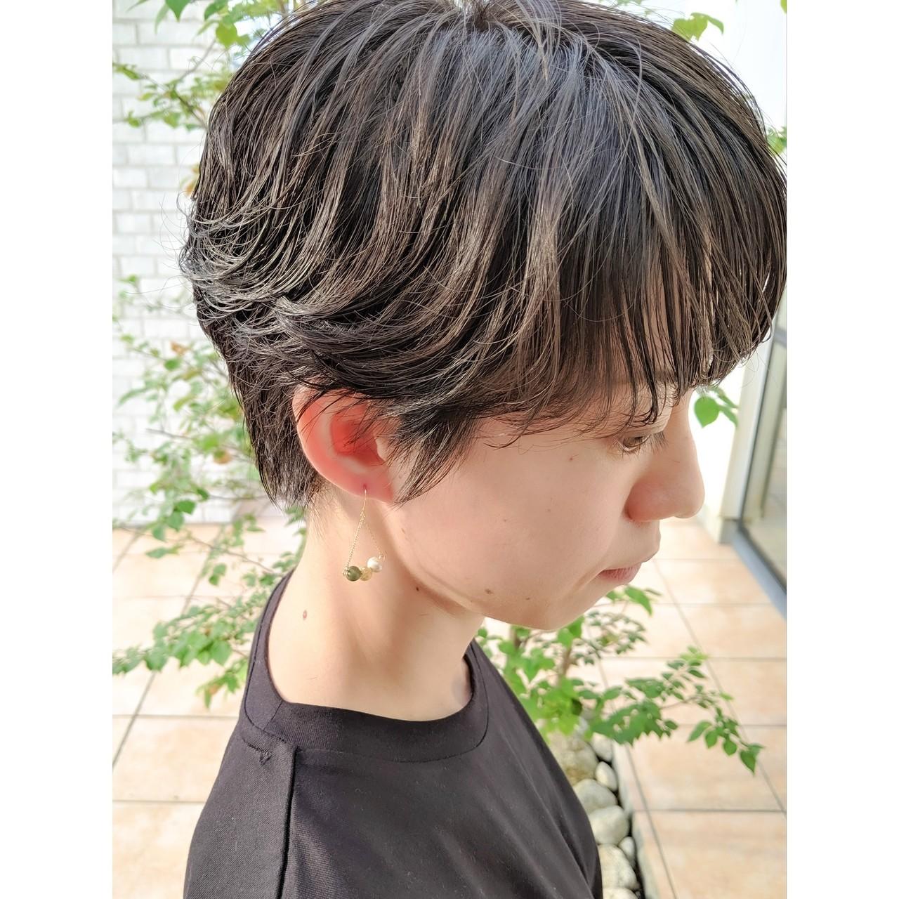 ショートボブ ショートヘア ベリーショート ショート ヘアスタイルや髪型の写真・画像 | 牧野一生 / SESSION