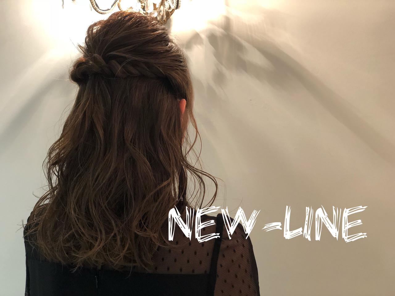 髪質改善トリートメント ロング 簡単ヘアアレンジ オフィス ヘアスタイルや髪型の写真・画像 | YUKA / NEWLINE