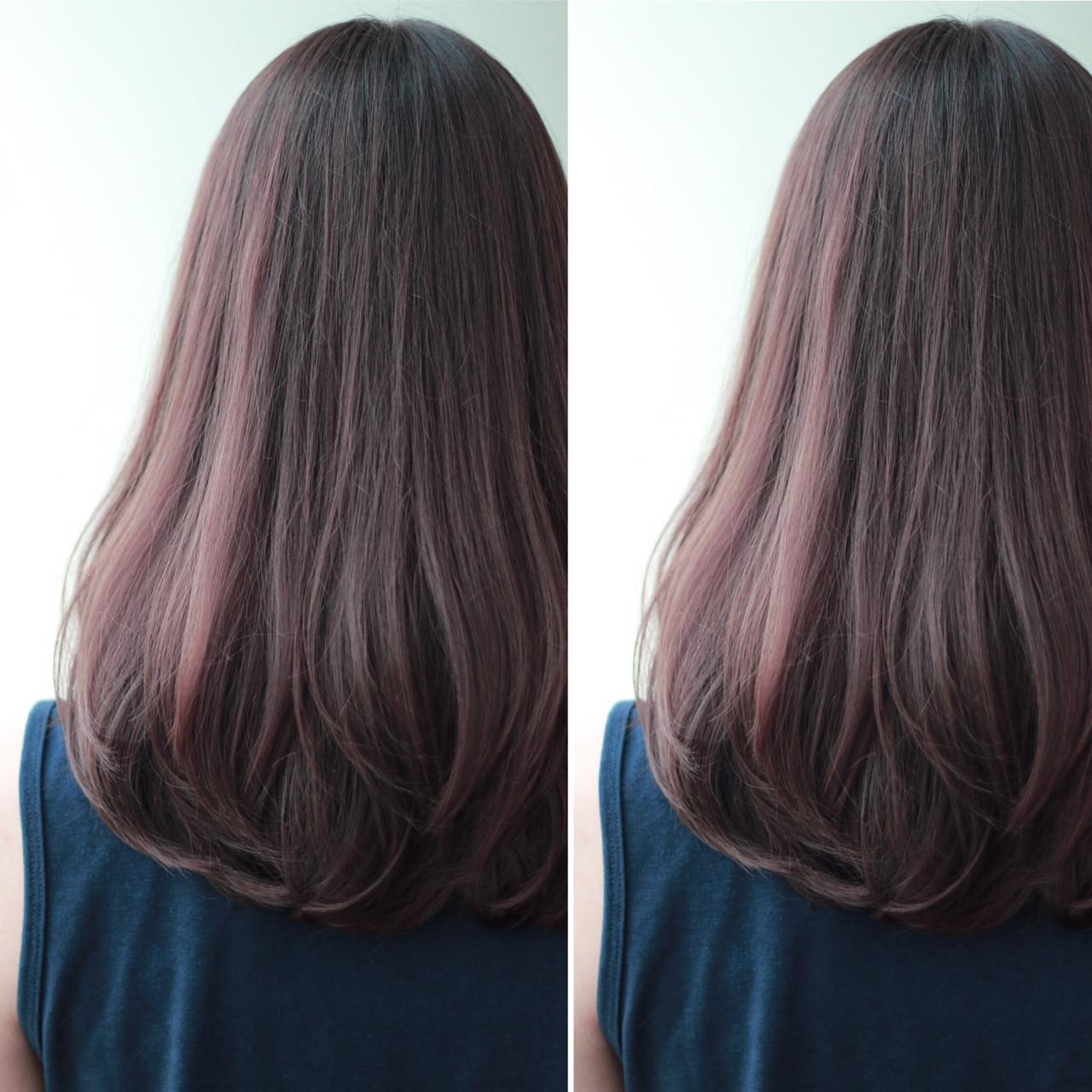 ゆるふわ ロング グラデーションカラー 暗髪 ヘアスタイルや髪型の写真・画像 | ZACC vie 宮森貴志 / ZACC vie