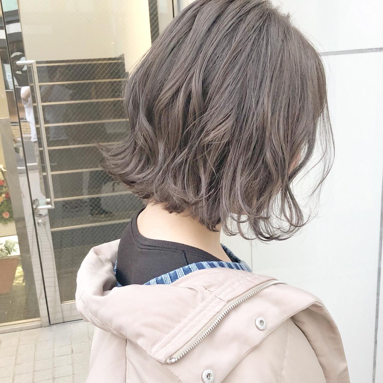 ボブ ミニボブ 大人かわいい デート ヘアスタイルや髪型の写真・画像   『ボブ美容師』永田邦彦 表参道 / send by HAIR