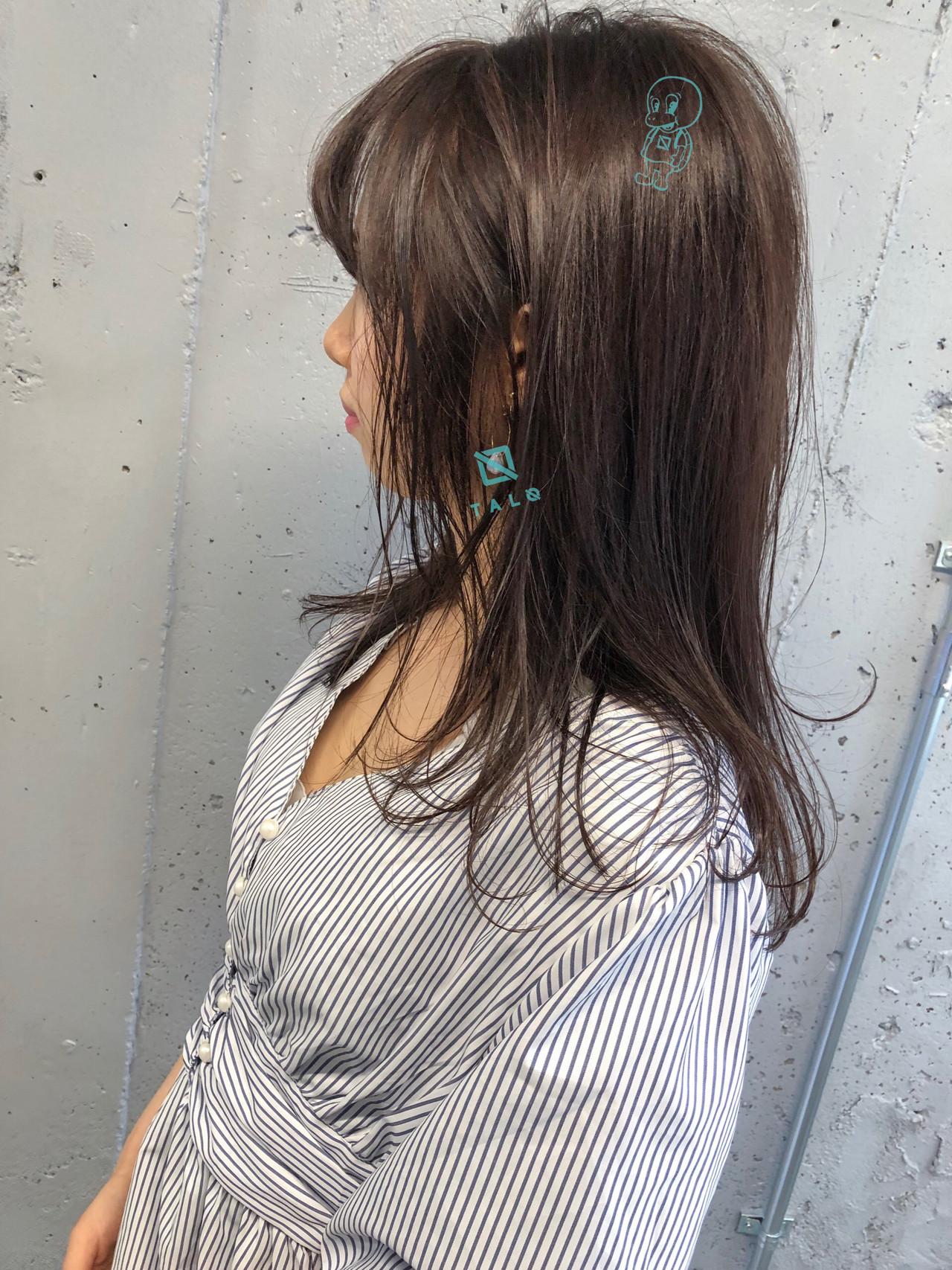 ナチュラル 成人式 オフィス ロング ヘアスタイルや髪型の写真・画像 | 山﨑 隆太 / TALO
