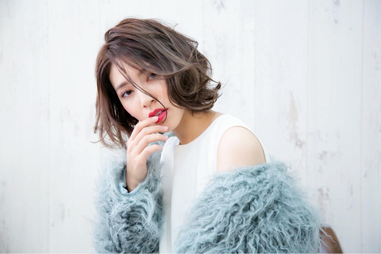 フェミニン 秋 ボブ 冬 ヘアスタイルや髪型の写真・画像 | PSYCHE KOZENI YUKO / psyche    大阪   /  中崎町 /  梅田