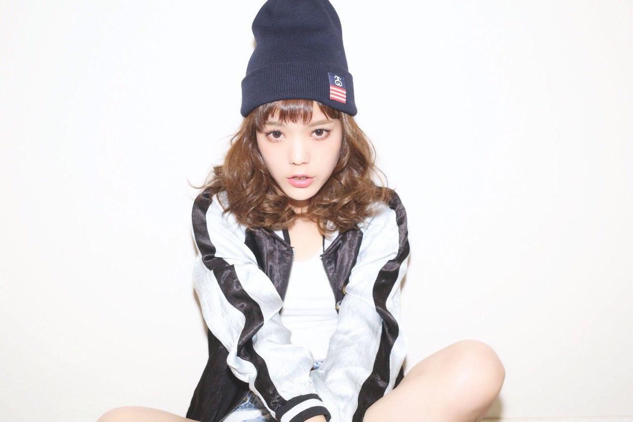 ニット帽×ヘアアレの合わせ技*オシャレ女子に私はなる。 長澤 メイ