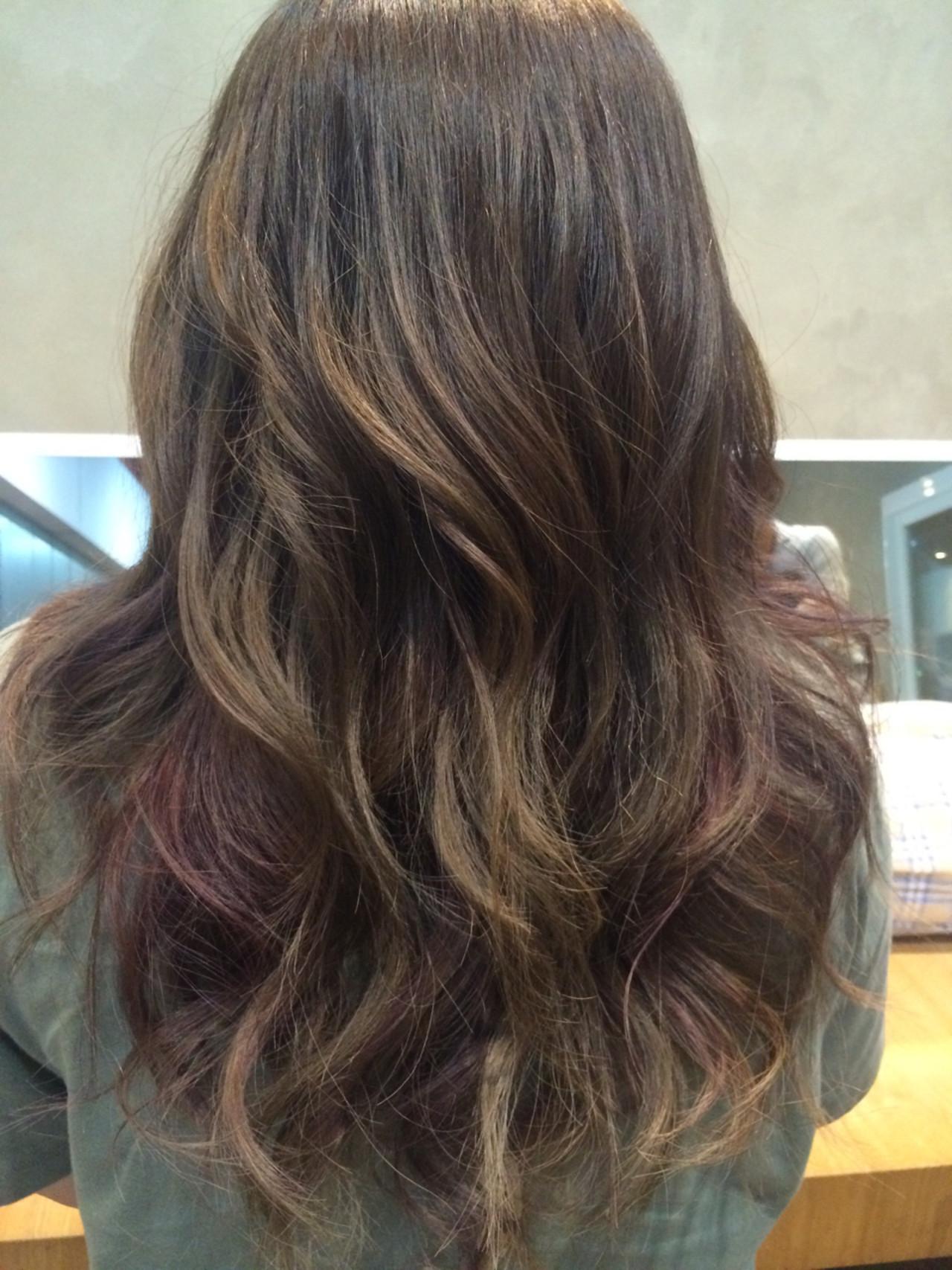 大人女子 ストリート アッシュ ミディアムヘアスタイルや髪型の写真・画像