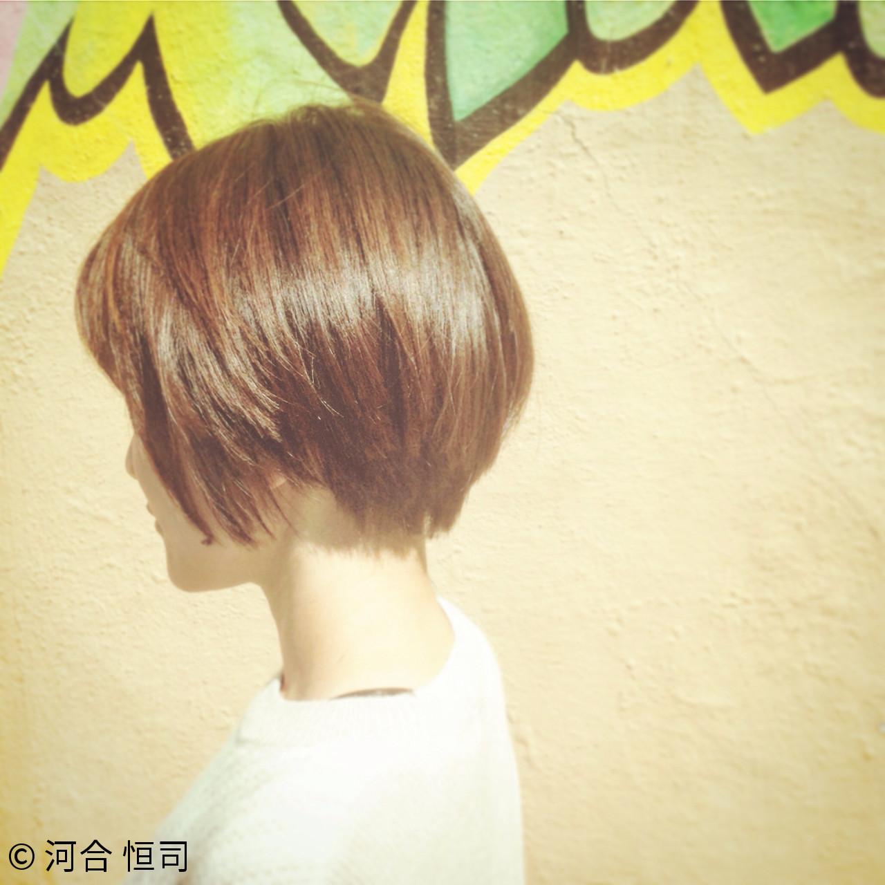 小顔 大人女子 ショート 色気 ヘアスタイルや髪型の写真・画像 | KOJI / ケート ke-to.beautyhair