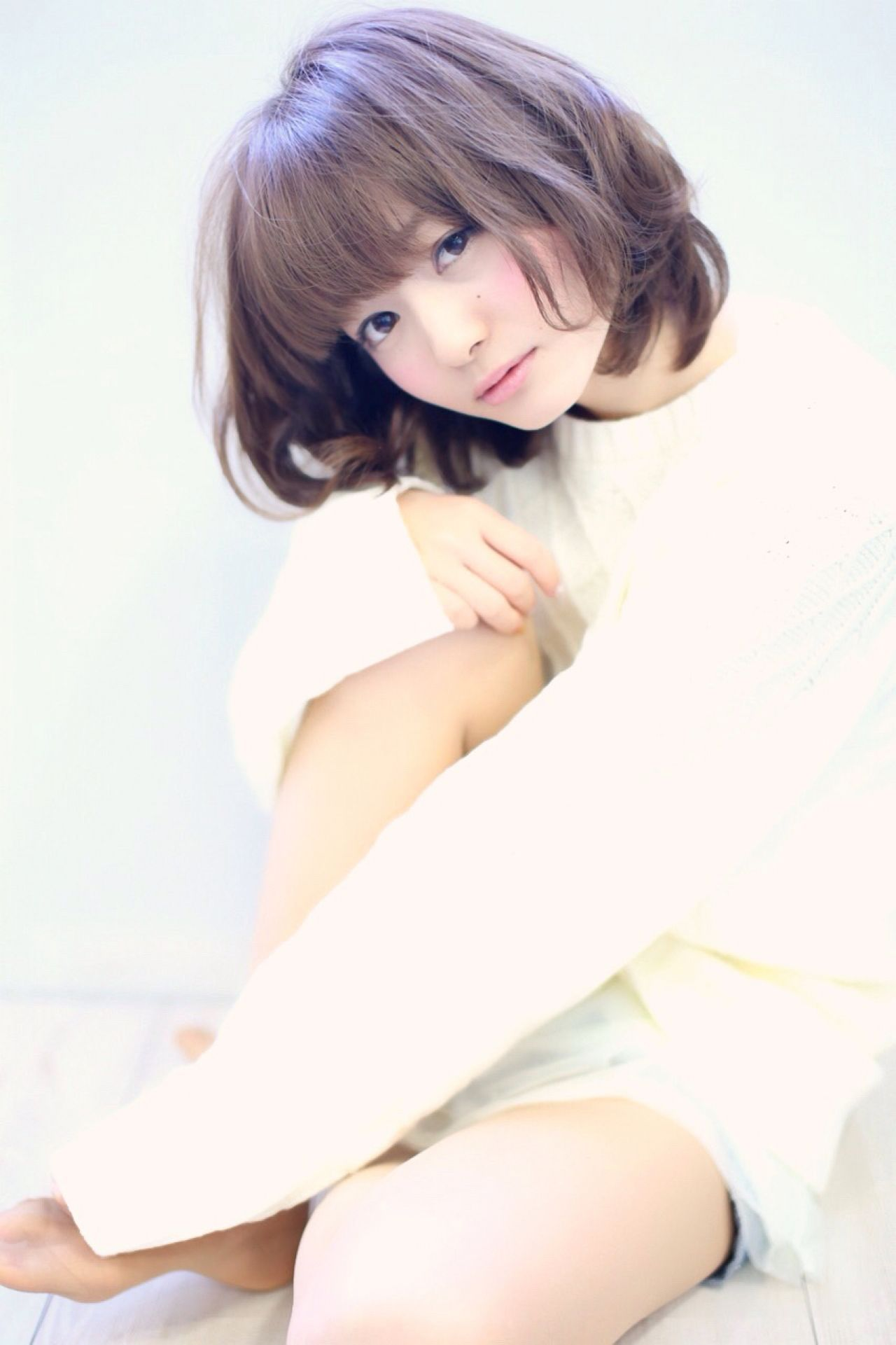 ゆるふわ 大人かわいい コンサバ ショート ヘアスタイルや髪型の写真・画像   藤岡 顕斗『Lily Crown』 / Lilly crown