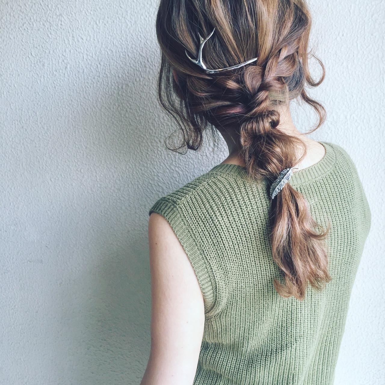 ヘアアレンジ モード アッシュ かっこいいヘアスタイルや髪型の写真・画像