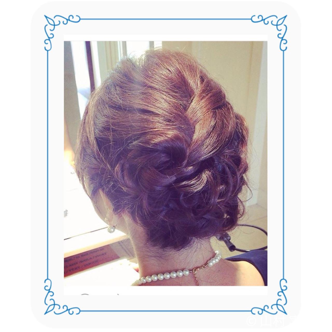 デート フェミニン 編み込み ヘアアレンジヘアスタイルや髪型の写真・画像