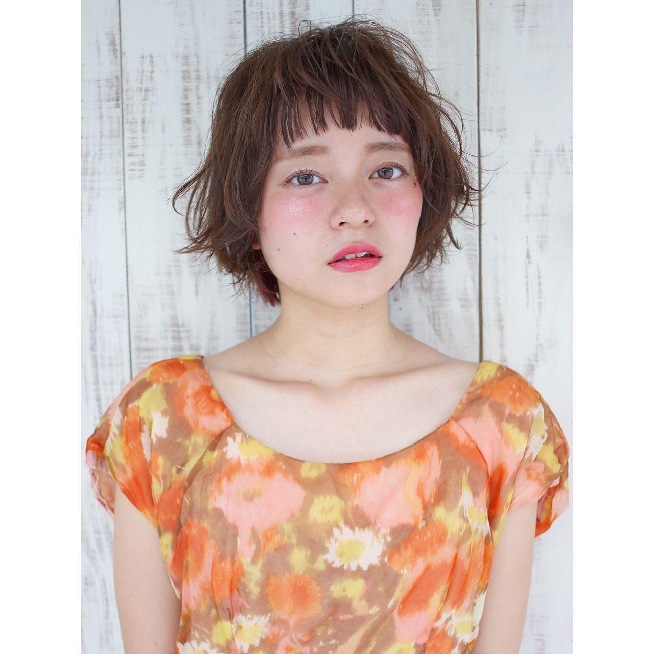 マンネリ化させない。ショートヘアさんのためのスタイリング講座。 浜本 忠勝 / koti BY broocH